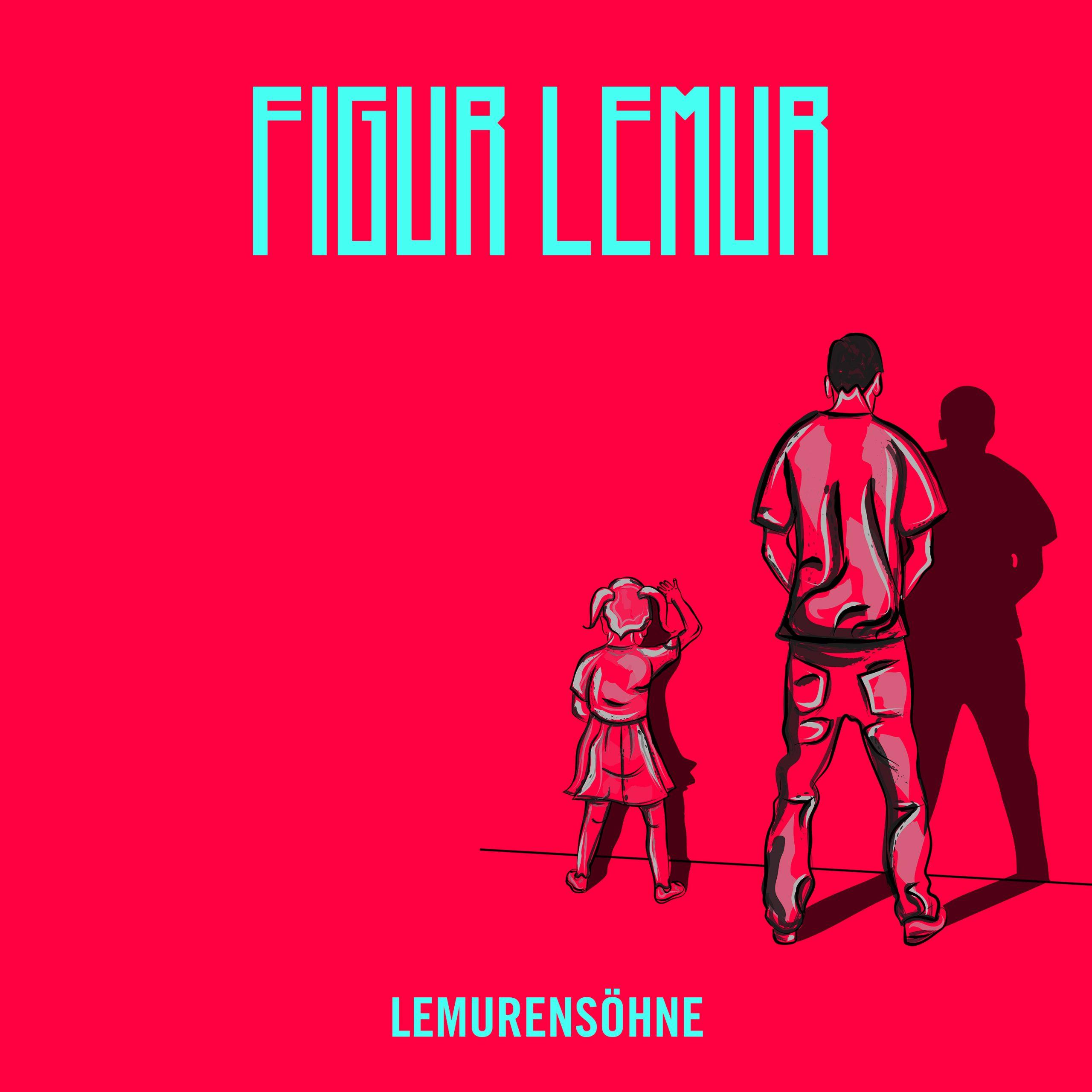 Figur Lemur - Lemurensöhne EP - Cover